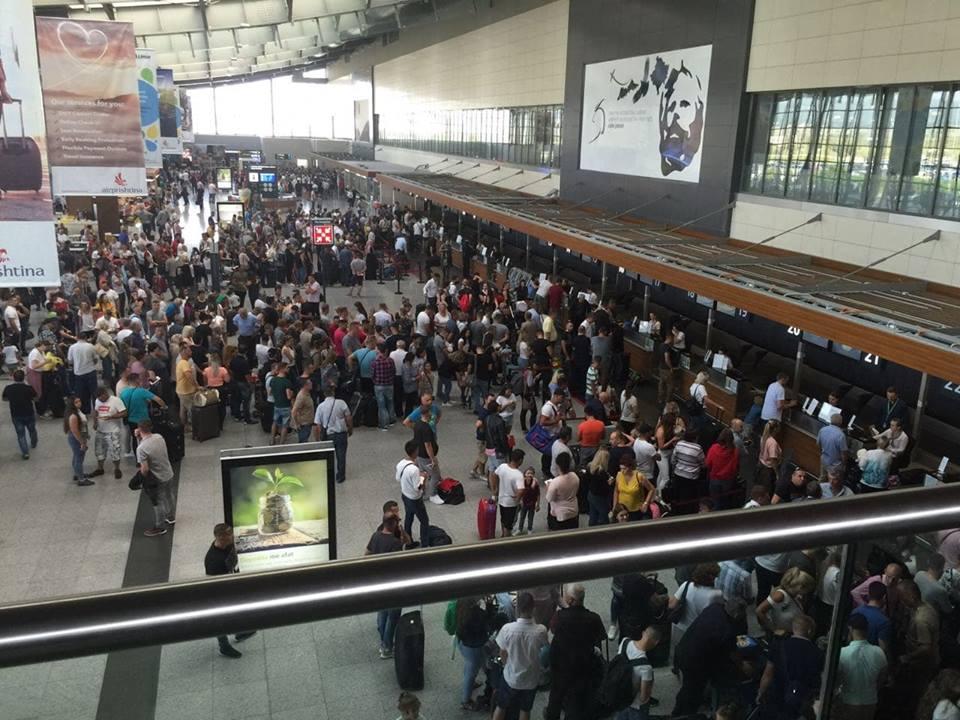 Bildergebnis für aeroporti adem jashari koronavirus