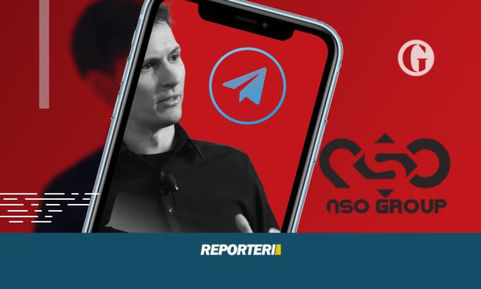 Telegram - Pavel Durov - Projekti Pegasus - Reporteri