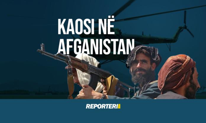 Kaosi në Afganistan - Reporteri